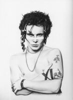 Adam Ant by lovelyzitalee
