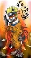 9 Tails Seal Breaker No jutsu by KanadaTheGreat