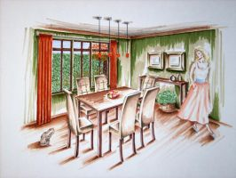 Interior Design Rendering 3 by Ryazan