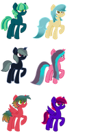 Pony adopts Open (2/6) Price lowered by FallenFateAdopts