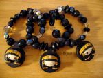 Bracelets 'Egyptian Girls' by Bojo-Bijoux