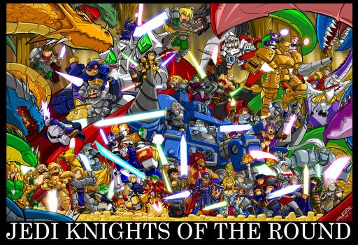 Jedi Knights Of The Round by ShoNuff44
