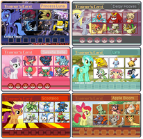 MLP Trainer Cards II by PerfectZanderSanchez