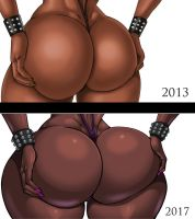 Ella's Ass changes by Osmar-Shotgun