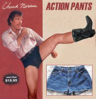 Chuck Norris Minus Pants by Agent-Spiff