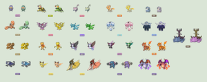 Pokemon TypeSwap Sprite Collection
