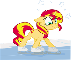 Skating on thin ice by seahawk270