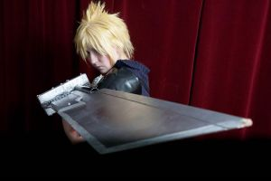Cloud Strife-2- Otaku 2010 by Ginger-Jude
