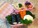 Homemade Chicken Salad Bento by Demi-Plum