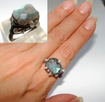 Labradorite ring by CrysallisCreations