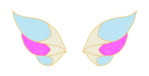 Gina: Winx Form Wings by AmberWorks