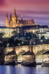 Prague Castle and Charles Bridge by BerarAdrian