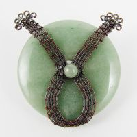 Copper and Aventurine WIP by sylva