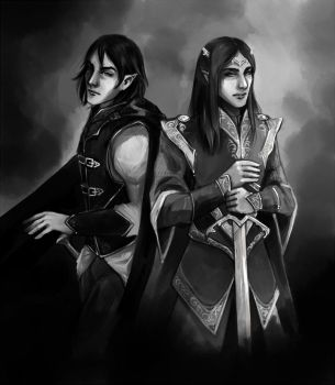 Jurre and Arye By Fee-Absinthe by Gnewi