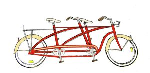 Bicycle for Two by k4-pacific