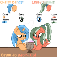 MLP - Adopt - Draw To Adopt Sisters! ENDED by cheesepuff2