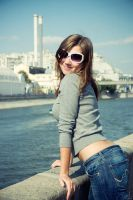 sun smile in the city by Lucem