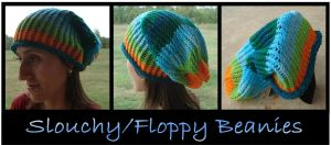 Custom Slouchy Beanie by RebelATS