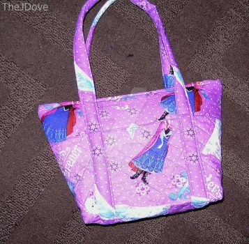 Medium Disney Frozen Quilted Purse by TheJDove