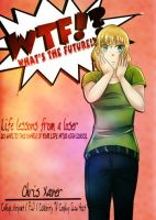 Book Cover Commish -- WTF by azureXtwilight-rllz