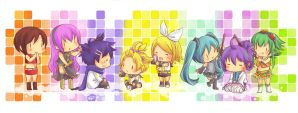 VOCALOID - Playtime by Annciel