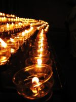 each candle stands for hope by chanTalPhotography