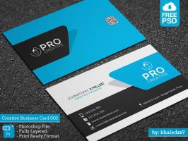 Creative Business Card 002 by khaledzz9