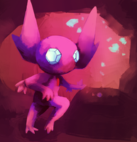 Sableye by kiwisco