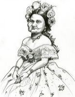 Mary Todd Lincoln by Caricature80
