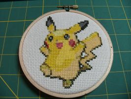 Pikachu commission by cainslove