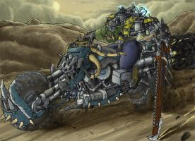 Ork Bike - Colour by Taytonclait