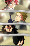 Dragons Slayers - Fairy Tail color by StingCunha