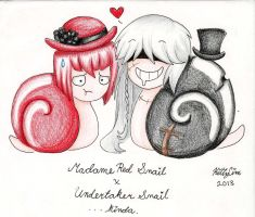 Kuro Snails - a Love story by TheUndertakersKitty