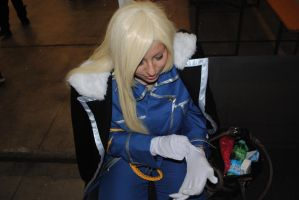 Olivier Mira Armstrong Cosplay by MasBlind
