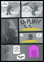 OC in Undertale Page 1 by Grethe--B