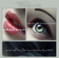 Details - Porcelain's Doll by Aerelin