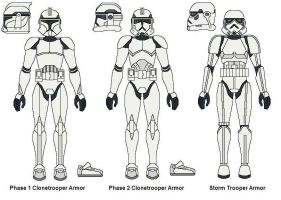 The Evolution of Trooper Armor by AJ-Prime