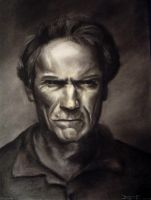 Clint Eastwood by Fruksion