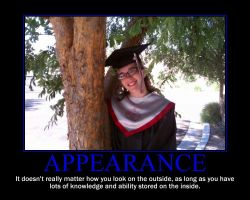 Appearance Motivational Poster by QuantumInnovator