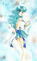 Sailor Neptune and talisman by ladymadge