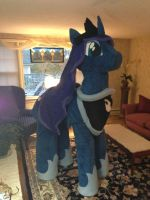 MLP Princess Luna Halloween Costume by GolemGeekery