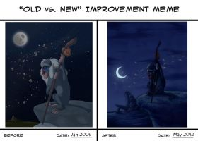 Old vs New- Rafiki Mourns by Atarial