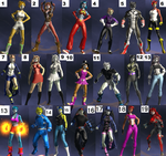 Deviantart Original Characters DC Universe V.2 by GameAndWill