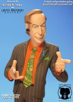 'Breaking Bad' GroveBro Toons Saul Goodman6 by TrevorGrove