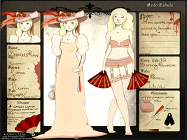 Ordo Fabula - Scarlett Rose by elephantflyer