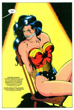 wonder woman bound and gagged by detectivesambaphile