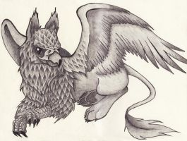 Another Griffin by keinneb