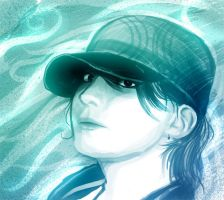 Girl and Cap by Tohad