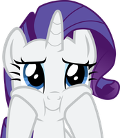 Rarity - Lovely face by Spydol