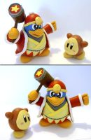 King Dedede + Waddle Dee by vrlovecats